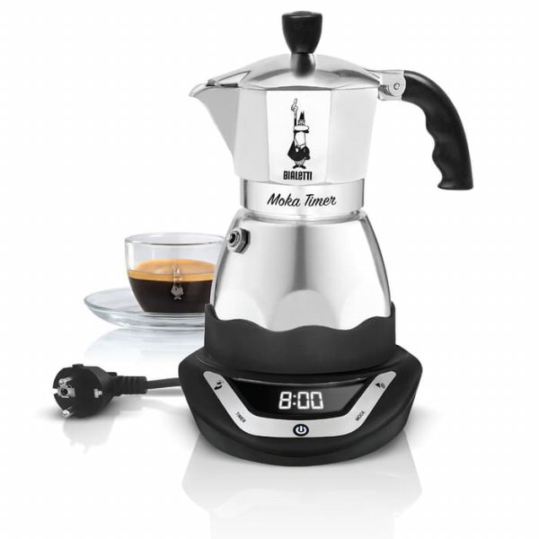 harga Bialetti Moka Timer Espresso Maker Electric Coffee Pot elevenia.co.id