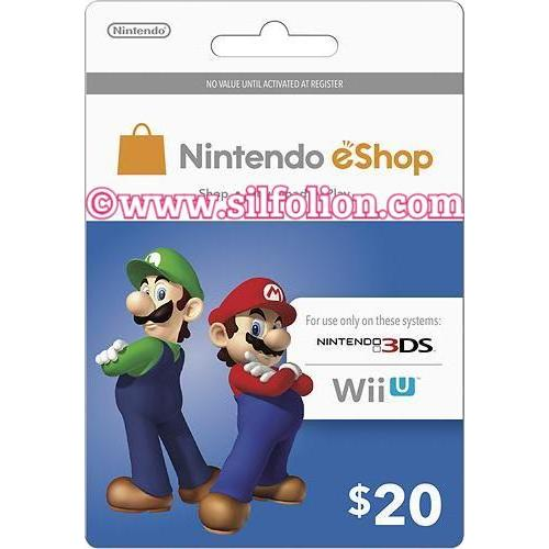 harga [Platinum] Nintendo eShop $20 3DS Wii U Switch elevenia.co.id