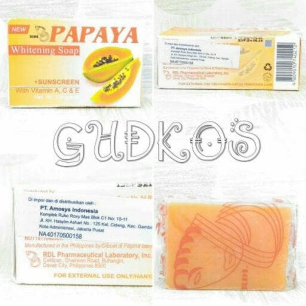 harga Sabun Pepaya RDL Original/ RDL Papaya Soap BPOM elevenia.co.id