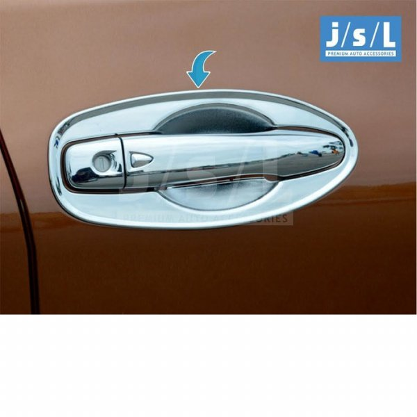 harga All New X Trail Outer Handle Cover Chrome/Aksesoris Eksterior XTrail elevenia.co.id
