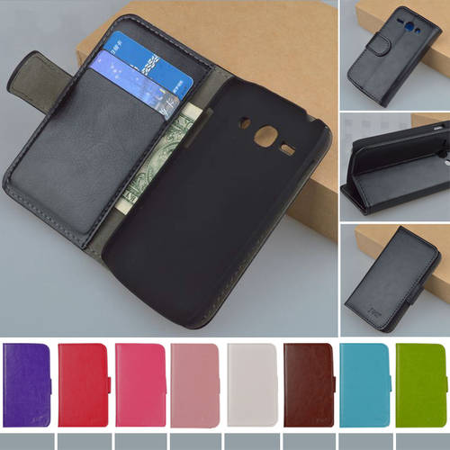 [globalbuy] J&R Brand PU Leather Flip Case For Samsung Galaxy ACE 3 III S7270 S7272 S7275 /3442520