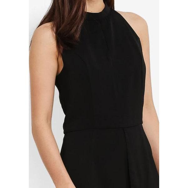 harga ZALORA High Neck Playsuit WIth Front Pleat Detail elevenia.co.id