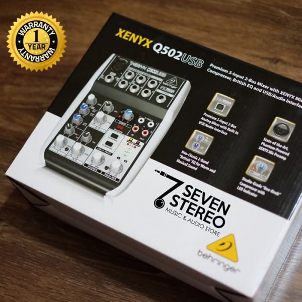 harga Behringer Mixer Xenyx Q502usb With Soundcard / Audio In elevenia.co.id