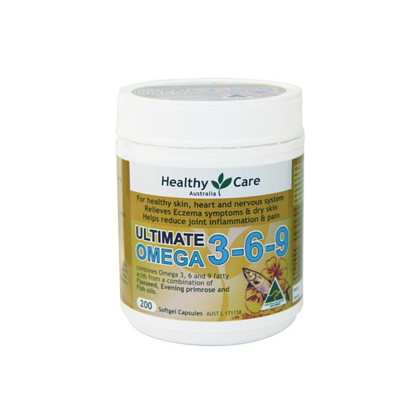harga Healthy Care Ultimate Omega 3-6-9  - 200 kapsul elevenia.co.id