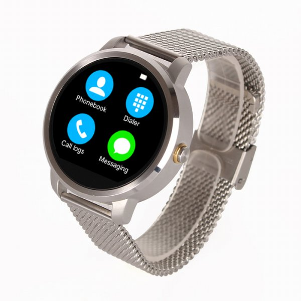 harga Smartwatch V360 Silver Android Watch elevenia.co.id