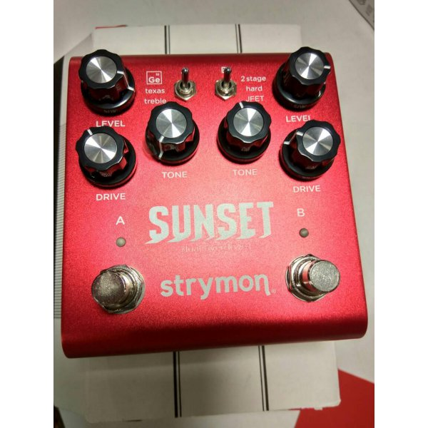 harga (Recommended) Strymon Sunset overdrive pedal elevenia.co.id