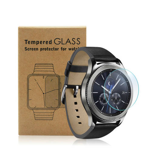 [globalbuy] Tempered Glass Screen Protector for Samsung Gear S3 Classic or Frontier 9H 2.5/4053086
