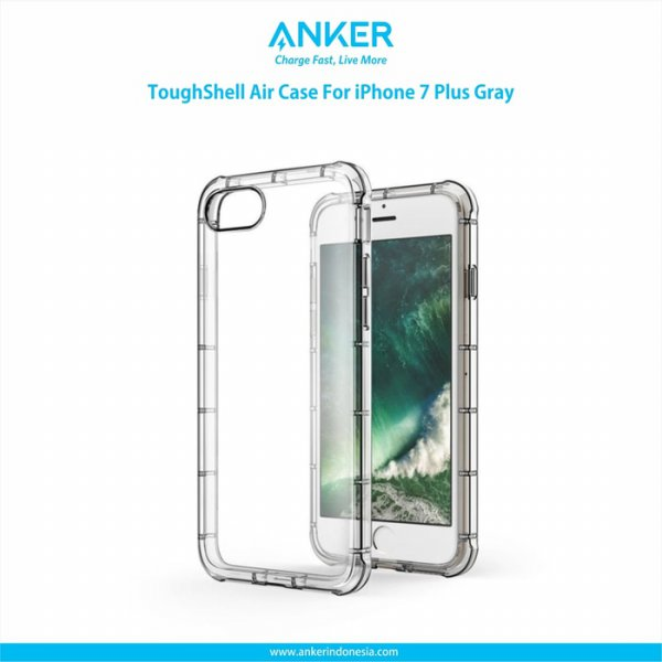 harga Anker ToughShell Air Case for iPhone 7 Plus Gray [A70560A1] elevenia.co.id