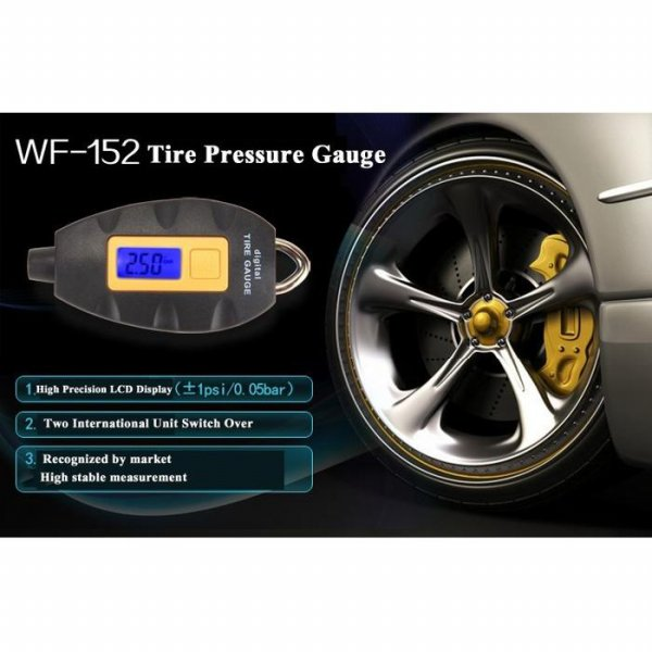 harga Digital LCD Tire Pressure Monitor - WF-152
