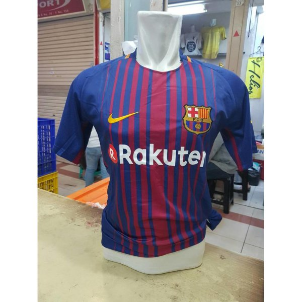 harga JERSEY BARCELONA HOME GRADE ORIGINAL NEW SEASON 2017/18 OFFICIAL 2018 | RSUS elevenia.co.id