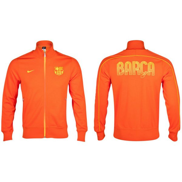harga Jaket Nike Barcelona- Orange (100% Original) elevenia.co.id