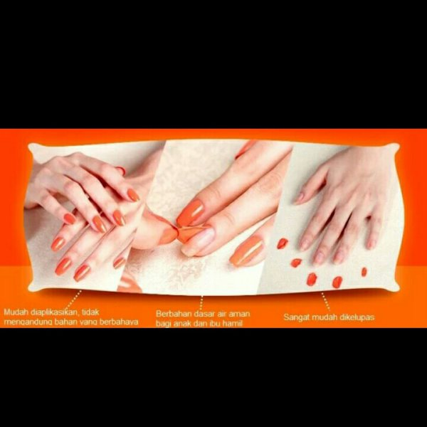 harga New promo bk nail polish water based kutek halal elevenia.co.id