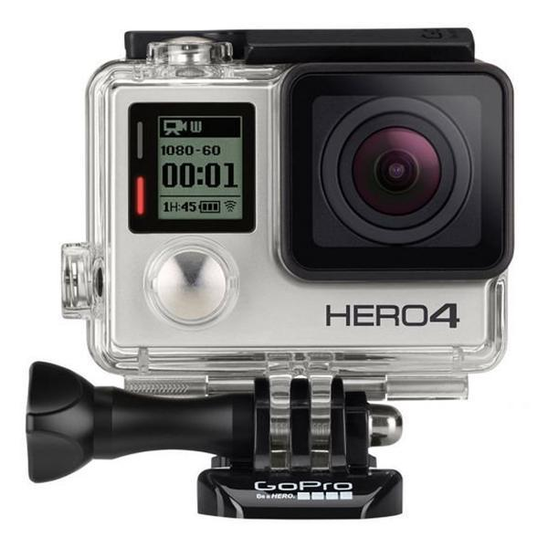 harga GoPro Hero 4 Black Edition - 12MP & FREE GoPro LCD Touch BacPac & GoPro BacPac Backdoor Kit elevenia.co.id