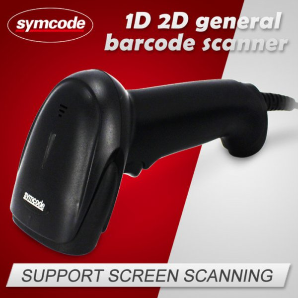 harga Symcode MJ-6706DS 1D/2D Handheld Portable Barcode Scanner elevenia.co.id