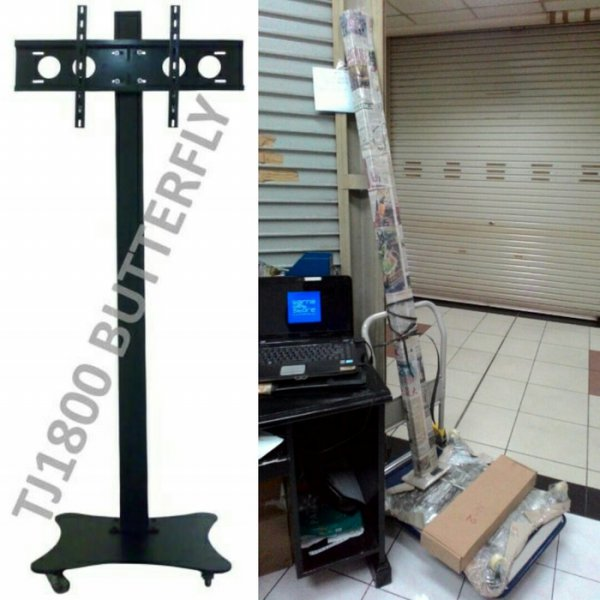 harga BRACKET LCD LED TV STAND TJ1800 BUTTERFLY elevenia.co.id