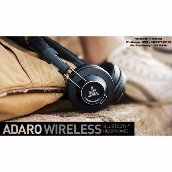 harga Headset Razer Adaro Wireless ( Bluetooh Headphone ) elevenia.co.id