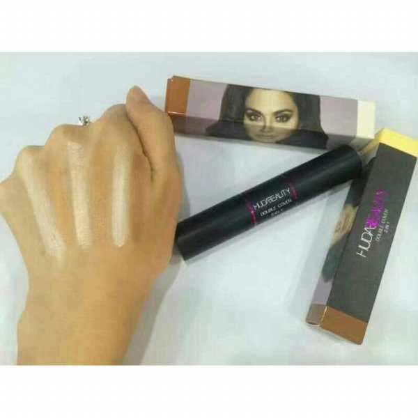 harga CONTOUR STICK HUDA BEAUTY 2IN1 / CONCEALER STICK DOUBLE COVER 2IN1/ NICO395 elevenia.co.id