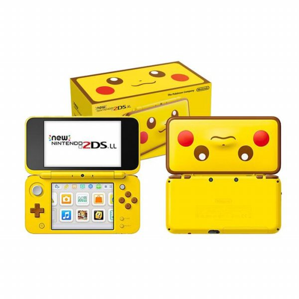 New 2DSXL 2DS XL Pikachu Edition CFW Permanent 32GB
