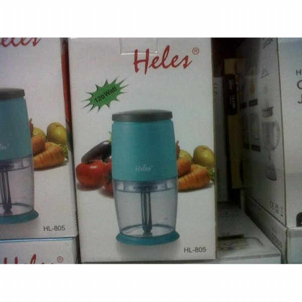 harga Heles Mini Chopper HL-805 / Blender Daging & Bumbu elevenia.co.id