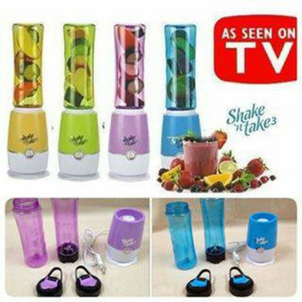 harga Botol Air Minum + Blender - SHAKE AND TAKE elevenia.co.id
