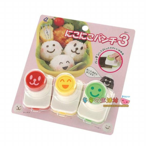 harga Nori Puncher - 3 Face Food Mold Vegetable Cutter Cetakan Bento Sayuran elevenia.co.id