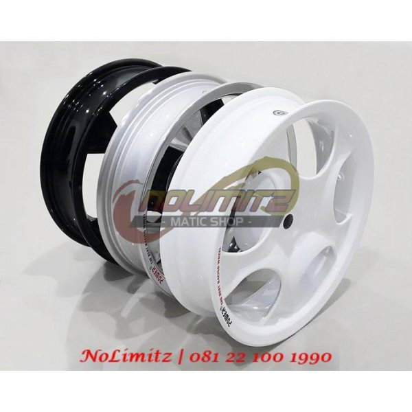 harga Velg Racing Lebar Power Rose 3,5 Inch Honda Vario 125 / elevenia.co.id