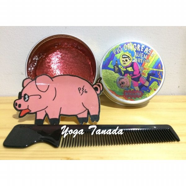 harga [Ready] Pomade Pig On Grease Alien Nation Waterbased Bubblegum (FREE SISIR) elevenia.co.id