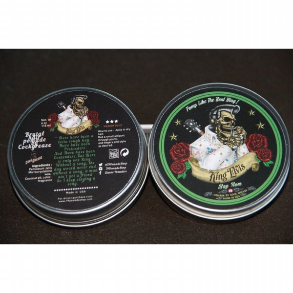 harga P.R.O.M.O Pomade 79 x Cockgrease Cock Grease King Elvis Oilbased (FREE SISIR) elevenia.co.id