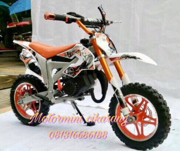 harga MOTOR MINI TRAIL MT3A NEW 50CC MESIN 2TAK elevenia.co.id