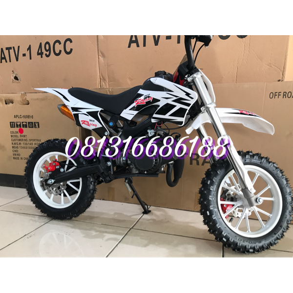 harga MOTOR MINI TRAIL MT2 50CC MESIN 2TAK elevenia.co.id