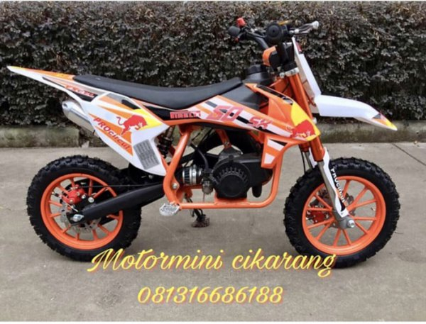 harga MOTOR MINI TRAIL MT4 50CC MESIN 2TAK elevenia.co.id