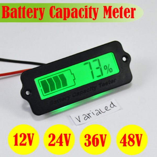 harga Display LCD Monitor Power Aki Meter Capacity Battery 8- elevenia.co.id