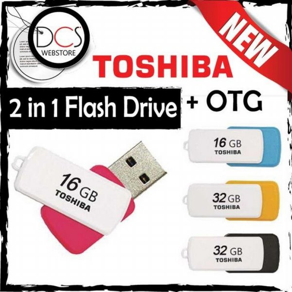 harga USB OTG Flashdisk Toshiba Mini 360 DUO 64GB USB 3.0 - Android&Windows elevenia.co.id