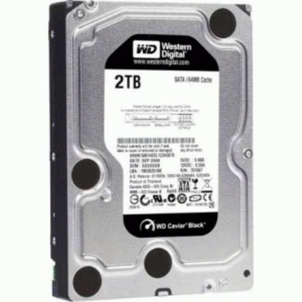 harga Harddisk WDC Black Internal 2TB HDD SATA 3.5