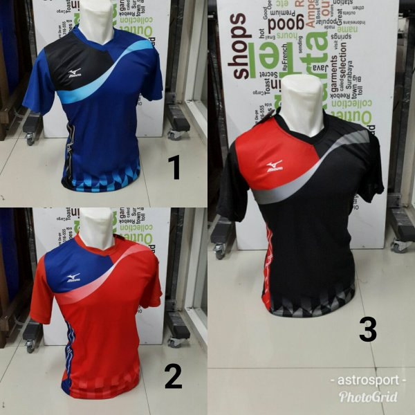 harga Kaos bola volly mizuno New elevenia.co.id