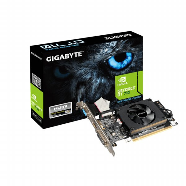 harga Gigabyte GeForce GT 710 1.0 2GB 64-Bit DDR3 VGA Card elevenia.co.id