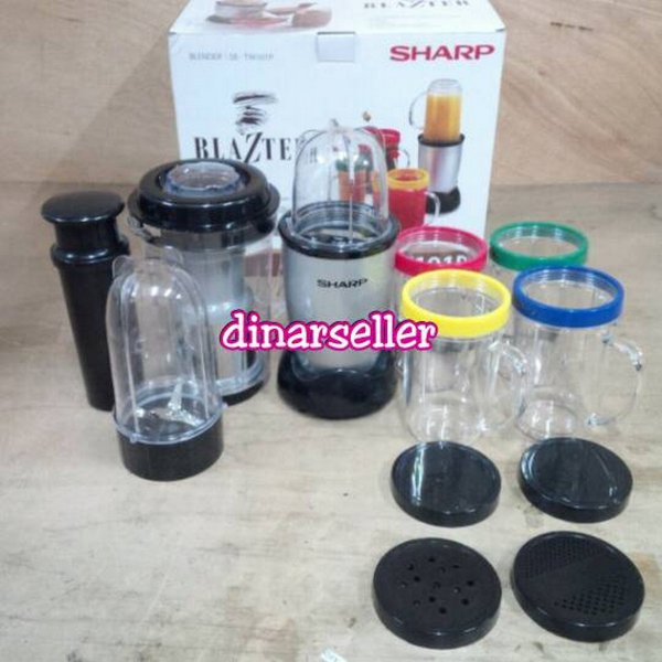 harga [Murah] BLENDER JUICER SHARP BLAZTER SB-1W101P elevenia.co.id