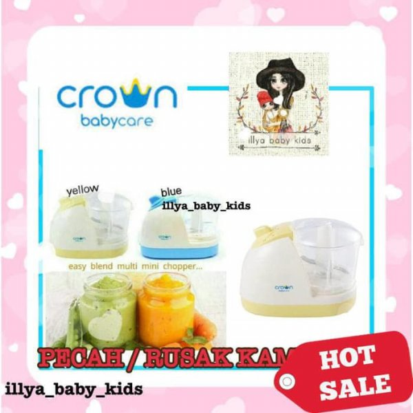 harga Crown Food Processor / Blender Makanan bayi / Crown easy blend multi elevenia.co.id