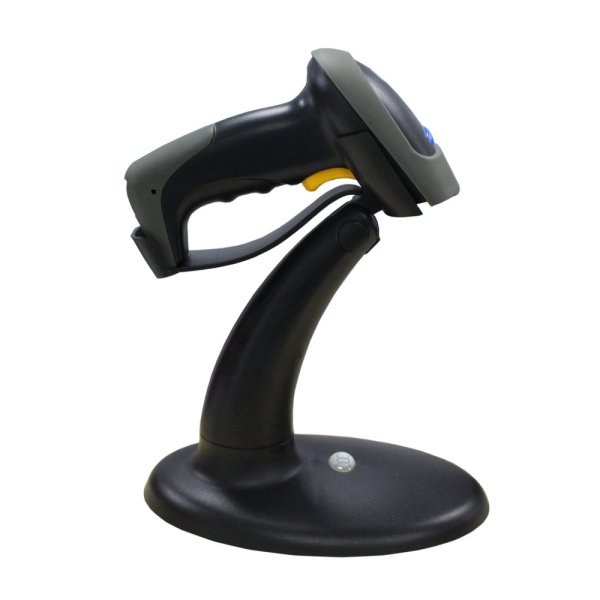 harga Taffware Handsfree Automatic Laser 1D Barcode Scanner Reader with Stand - YK990 - Gray elevenia.co.id