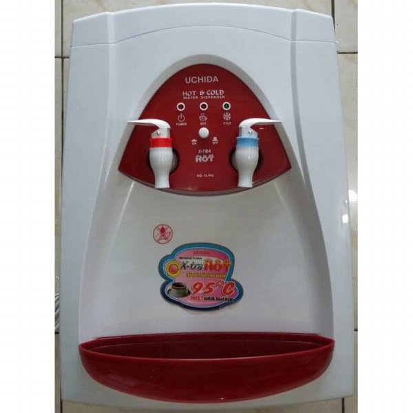 harga Uchida MD-16PAS Water Dispenser Hot & Cold - Dobel X-tra Panas Dingin elevenia.co.id