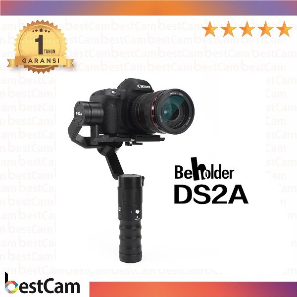 harga Beholder DS2A Handheld Gimbal Stabilizer 3-Axis Brushless Gimbal elevenia.co.id