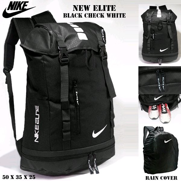 harga TAS RANSEL TRAVEL NIKE NEW ELITE GYM OLAHRAGA TRAVELBAG FITNESS BASKET BACKPACK BLACK ADIDAS - UNDER ARMOUR elevenia.co.id
