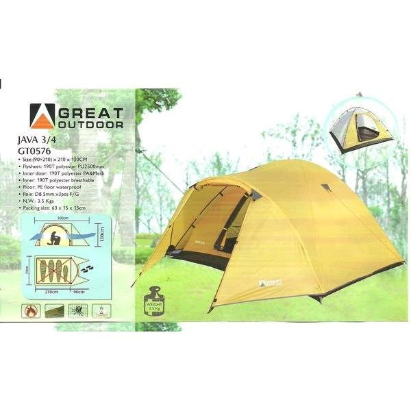 harga Tenda Great Outdoor Java 4 not eiger lafuma tocubic merapi mountain naturehike elevenia.co.id
