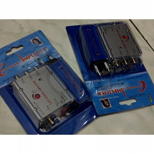 harga Penjernih & Penguat Sinyal TV (TV Signal Booster) + 3 Splitter elevenia.co.id