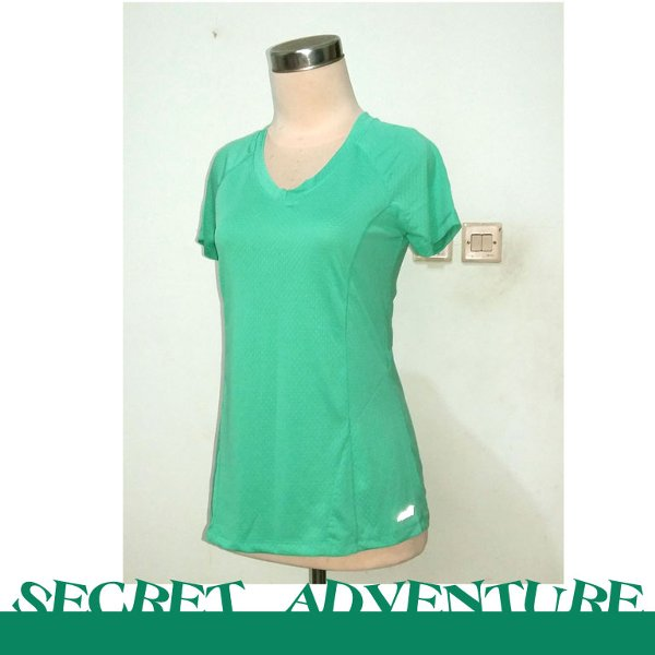 harga Avia Women Quick Dry Running/sport Shirt GREEN Size L elevenia.co.id