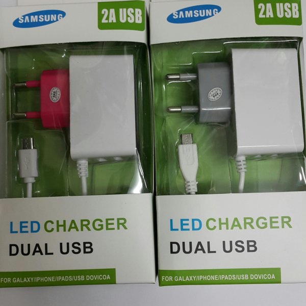 harga LED Charger Dual USB for Android elevenia.co.id