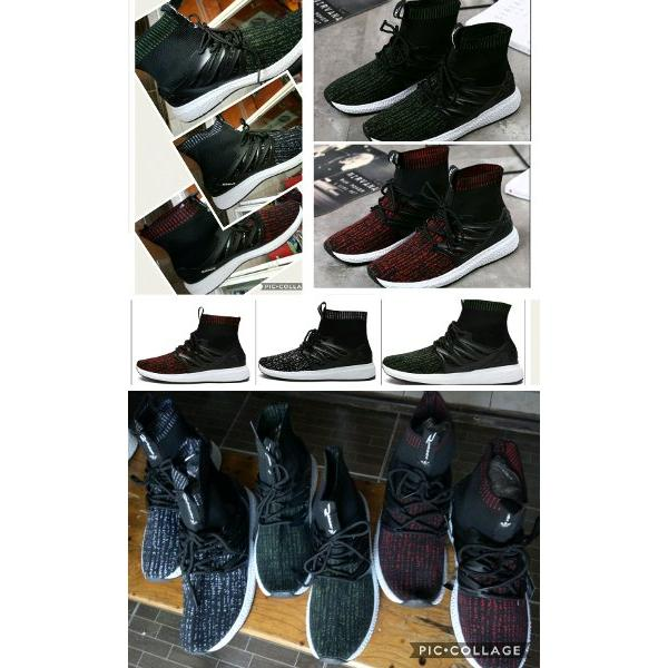 harga Sepatu Casual Sport Adidas Flyknit Boots Apple NMD R2 AB Running Air Max Fashion Women Wanita Pria Man Jogging Fitness Golf Lari Abu Maron Navy Hitam elevenia.co.id