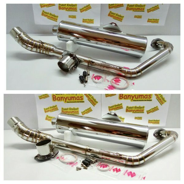 harga Knalpot Jupiter MX Old or MX New Silincer Fu CKD. Original SGP. Leher Full Stainless elevenia.co.id