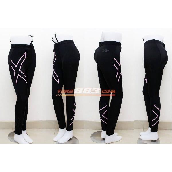 harga 2XU Women Joggers Compression Fitness Tight Running Clothes Breathable Superelastic Quick-Drying Pants elevenia.co.id