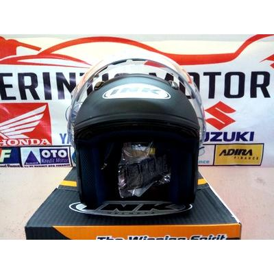 harga LIMITED HELM INK CENTRO JET SOLID BLACK DOFF THE  WINNING SPIRIT elevenia.co.id